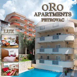 Oro Apartments - Petrovac