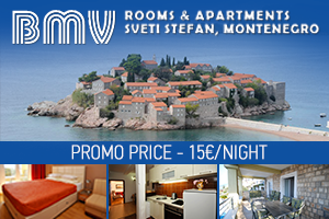 Apartmani BMV - Sveti Stefan