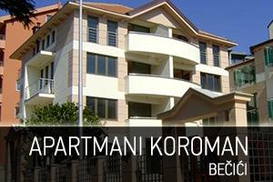 Apartmani Koroman - Bečići