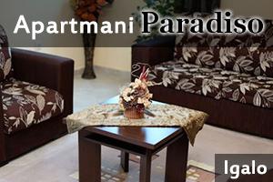 Apartmani Paradiso - Igalo